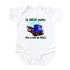 How We Roll Infant Bodysuit