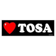 TOSA Bumper Bumper Sticker
