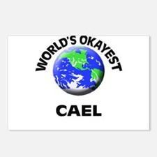 World's Okayest Cael Postcards (Package of 8)