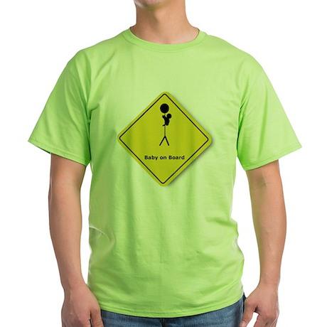 Babywearing Green T-Shirt