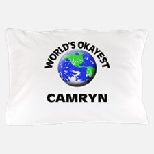 World's Okayest Camryn Pillow Case