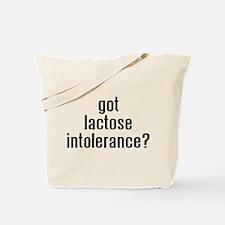 Cute Lactose intolerance Tote Bag