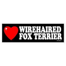 WIREHAIRED FOX TERRIER Bumper Bumper Sticker