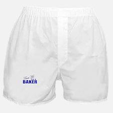 Trust Me I'm a Baker Boxer Shorts