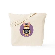DOG BUTTS Fr. Bulldog Tote Bag