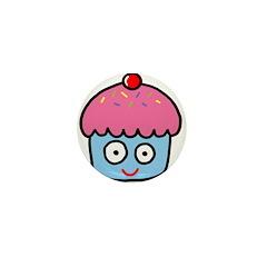 Cupcake! Mini Button (10 pack)