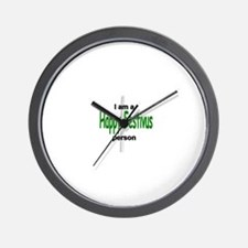 I am a Happy FESTIVUS™ person! Wall Clock