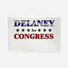 DELANEY for congress Rectangle Magnet