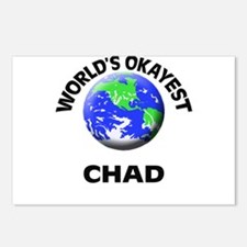 World's Okayest Chad Postcards (Package of 8)