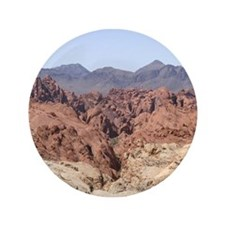 "Valley of Fire State Park 3.5"" Button (100 pack)"