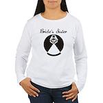 Bride's Sister Women's Long Sleeve T-Shirt