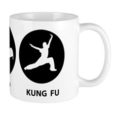 Eat Sleep Kung Fu Small Mug