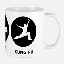 Eat Sleep Kung Fu Small Small Mug