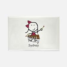 Xylophone - Sydney Rectangle Magnet