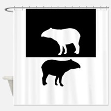 Tapirs Shower Curtain
