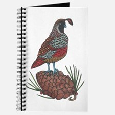 Quail and Pinecone Journal