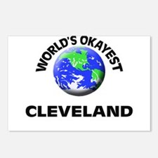 World's Okayest Cleveland Postcards (Package of 8)