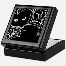 Spooky Cat Keepsake Box