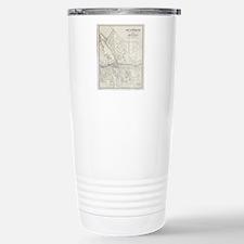 Vintage Map of Syracuse Travel Mug