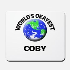 World's Okayest Coby Mousepad
