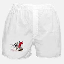Carlsbad, CA Beach Bums Boxer Shorts