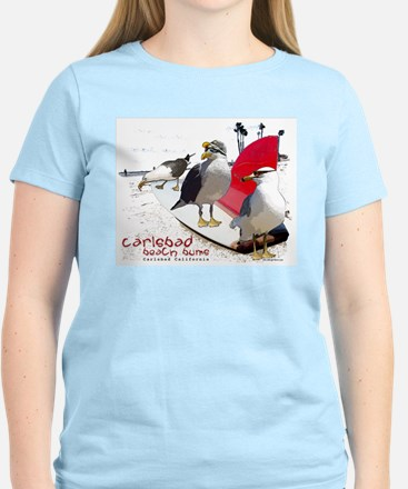 Carlsbad, Ca, Beach Bum T-Shirt