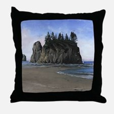 Olympic National Park, WA Scenic Throw Pillow