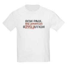 Ron Paul Revolution on Black T-Shirt