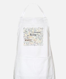 A Christmas Carol Word Cloud Apron