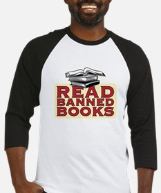 Read banned books - Baseball Jersey