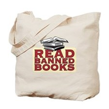 Read banned books - Tote or Book Bag