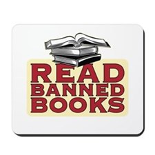 Read banned books - Mousepad