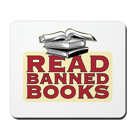 Read banned books - Mousepad