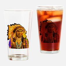 WISDOM Drinking Glass