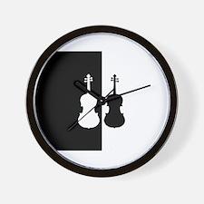 Violas Wall Clock