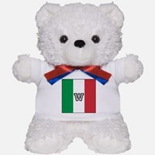Team Colors Monogram Italian Teddy Bear