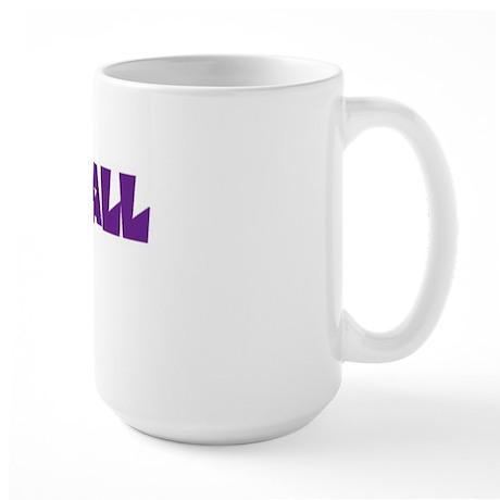 Voleyball mom Large Mug