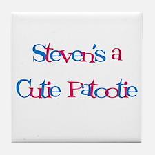 Steven's a Cutie Patootie Tile Coaster