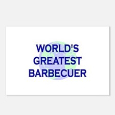 World's Greatest Barbecuer Postcards (Package of 8