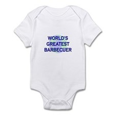 World's Greatest Barbecuer Infant Bodysuit