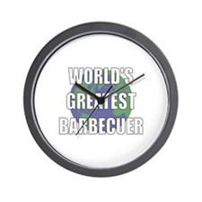 World's Greatest Barbecuer Wall Clock