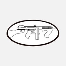 Gangster Tommy Gun Patch
