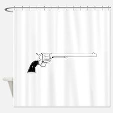Wyatt Earpl Six Gun Shower Curtain