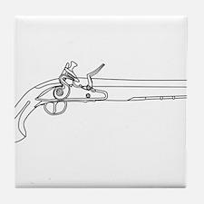 Pirates Pistol Tile Coaster