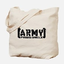 Proud Army Uncle - Tatterd Style Tote Bag