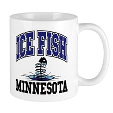 Ice Fish Minnesota Mug