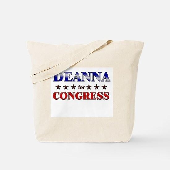 DEANNA for congress Tote Bag