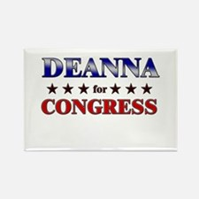 DEANNA for congress Rectangle Magnet