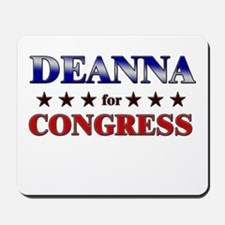 DEANNA for congress Mousepad