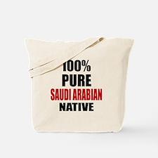100 % Pure Saudi or Saudi Arabian Native Tote Bag